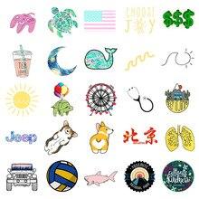 50 PCs Water Bottles Stickers for VSCO Girls  Laptops Sticker for Teens Feminist – Cute Aesthetic Trendy Waterproof Vinyl Stick