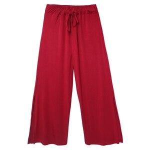 Image 4 - Pantalon ample pour femmes, pantalon ample pour danse, pour pratique du Ballet, de Jogging, de Yoga, pour entraînement de gymnastique pour adultes