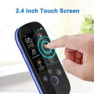 Image 5 - TOMKAS Simultaneous Voice Translator 2.4 Inch WiFi Photo Translation Multi language Portable Smart Voice Translator For Tourism