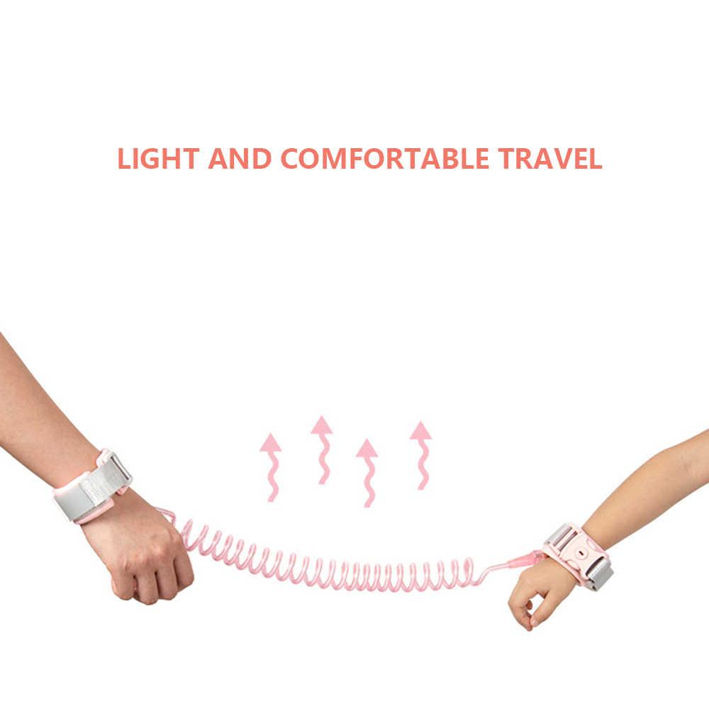 LOOZYKIT ילדים חיצוני הליכה יד חגורת להקת שדרוג תינוק אנטי איבד יד קישור רצועת פעוט בטיחות תינוק רצועת חבל לרתום