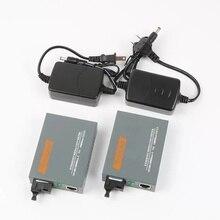 HTB-GS-03 A/B Gigabit Fiber Optical Media Converter 1000Mbps Single Mode SC Port 20KM
