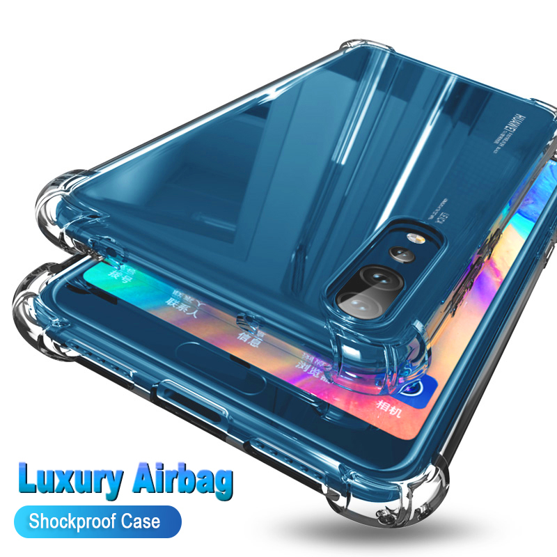 Caso transparente claro do telefone do silicone para samsung galaxy a70s a70e a70s a30s a50s a20s a20e a10s proteção de volta