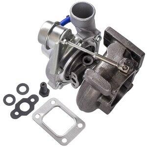 Image 3 - Gt25 gt28 t25 t28 gt2871 gt2860 para sr20 ca18det atualizar turbo turbocompressor turbina a/r 0.6 turbina a/r 0.64 flutuador molhado