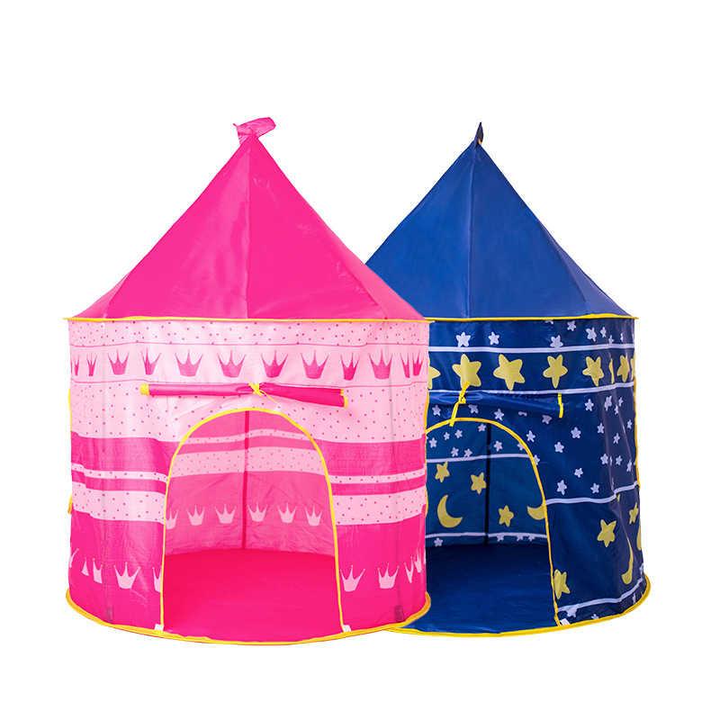 Tienda de campaña portátil para niños, tienda de campaña con castillo de princesa para niños pequeños, Tipi, tienda de campaña para niños, tienda de campaña para exteriores para bebés