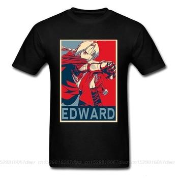 One yona Anime Fullmetal camiseta de alquimista Edward Steel Full Metal alquimista...