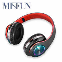 Head-mounted wireless headphones Gaming Earphone Bluetooth-Headset Tf-Card Stereo Noise-Reduction Foldable True Wireless For pc