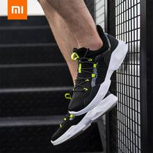 Mens Non-Leather Casual Shoes Sneaker Lightweight Men Flying Woven Fabric Sneakers Sports Running from Xiaomi Eco-System