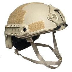 NIJ IIIA Aramid SCHNELLE Militär Kugelsichere Helm Kugelsichere Kampf Helm Für Polizei Schutz Sicherheit Schutz
