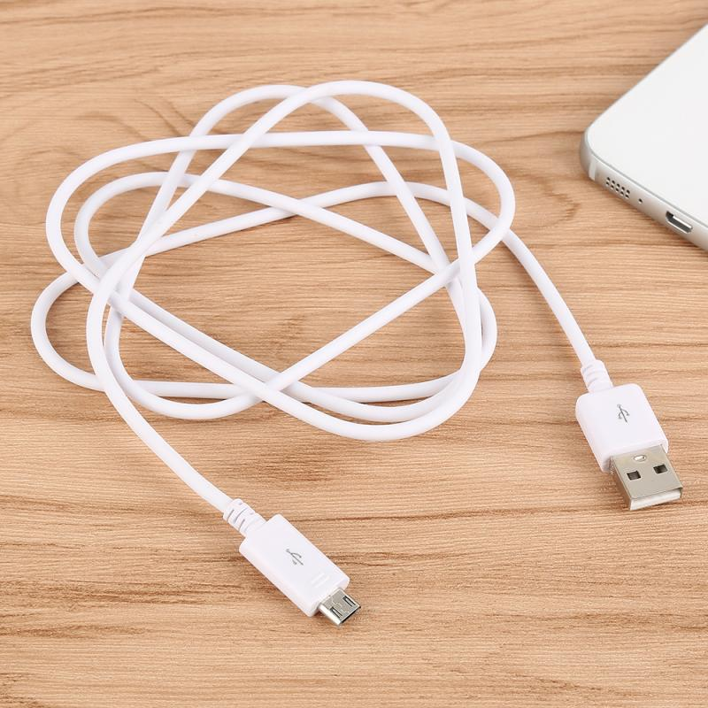 New White 1/1.5/3M Micro USB Cable Fast Data Syncing Adapter Charger For Android Phones Sumsung HUAWEI HTC Xiaomi LG