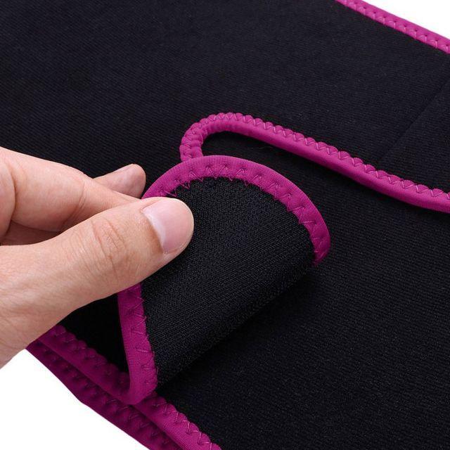 Sweaty Waist Belt Widening Yoga Fat Burning Belly Belt Running Leggings Stuffy Sweat Heat  Body Shaper Slim Shapewear 1 2