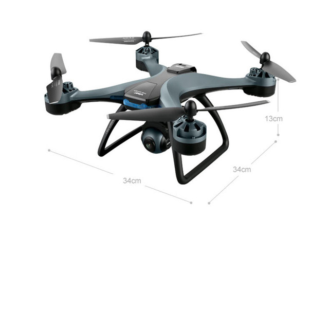 New F5 Pro RC Quadcopter Drones - WiFi FPV 2.4G / 5.8G ESC GPS Hold Foldable Arm-Wide Angle HD 4K Dual Camera Altitude Mode 5