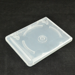 Image 4 - 10 pcs CD DVD Disc Plastic Case Capacity Disc CD Storage Box for PS3