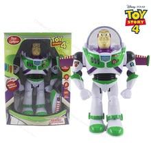 Figuras de acción de Disney Toy Story 4, Buzz Lightyear, 30cm, luces de PVC, voces móviles con alas, juguetes para niños, regalo de cumpleaños, 2D08