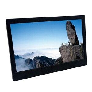 Ультратонкая цифровая фоторамка 10,1 дюйма HD 1024x600 HD, светодиодный электронный фотоальбом, ЖК-фоторамка