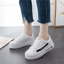 2019 New White Sneakers Women Canvas Shoes Men Fashion Vulcanize Summer Casual C0080