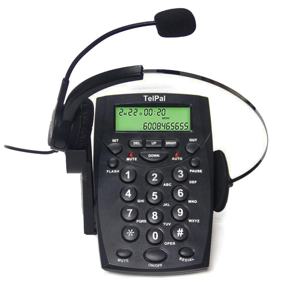 Проводная гарнитура, гарнитура для телефона с функцией шумоподавления, набор телефонов с гарнитурой для колл-центра, телефонная гарнитура ...