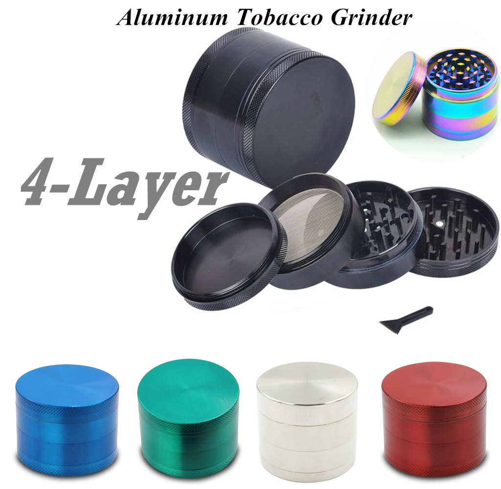 Manual Tobacco Mill Smoking Accessories Easy Dry Herbal Weed Tobacco Cannabis Pepper Cans Spice Grinder Grinder
