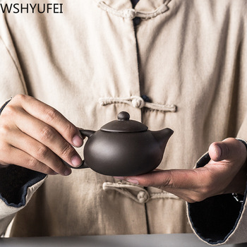 Yixing new style Purple sand teapot Handmade teapot chinese puer oolong tea pot Tea set Tea Set Chinese tearoom etiquette цена 2017