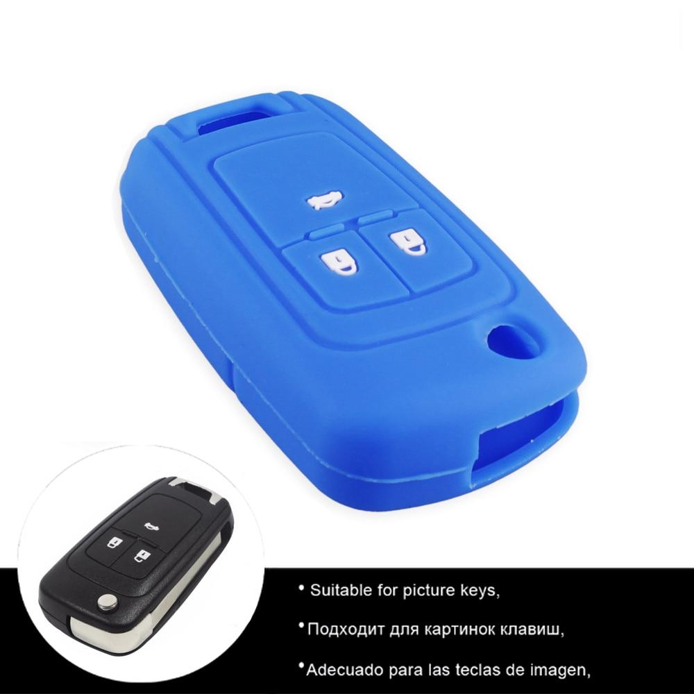 Image 2 - KEYYOU 3 кнопки силиконовый чехол для ключа автомобиля для шевроле круз Chevrolet Cruze Aveo Lova Epica Opel VAUXHALL Astra Corsa Antara Meriva Insignia корпус для пк-in Футляр для автомобильного ключа from Автомобили и мотоциклы on AliExpress