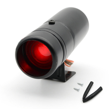 Universal Car Auto Tachometer Gauge Shift Adjustable Warning Light Speed Alarm