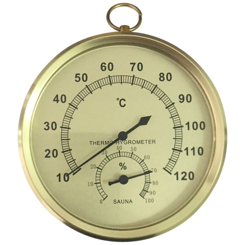 Sauna Thermometer And Hygrometer Case Steam Sauna Room Thermometer Hygrometer Bath And Sauna Indoor Outdoor Used
