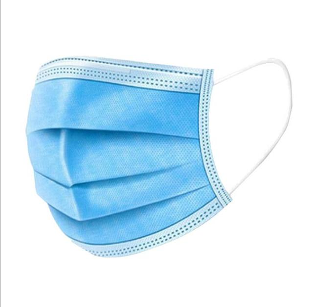 100PCS Face Mouth Anti Virus Mask Disposable Protect 3 Layers Filter Dustproof Earloop face Mouth Masks Non Woven 1