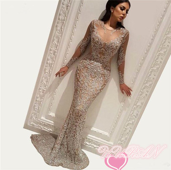 Wholesale Tulle French Nigerian lace fabric high quality handmade African glitter sequined fabric for royal wedding dress