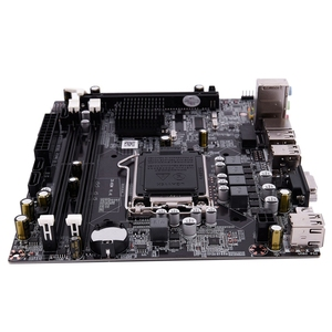Image 3 - PPYY nowość H55 LGA 1156 gniazdo płyty głównej LGA 1156 Mini ATX obraz pulpitu USB2.0 SATA2.0 podwójny kanał 16G DDR3 1600 dla Intel