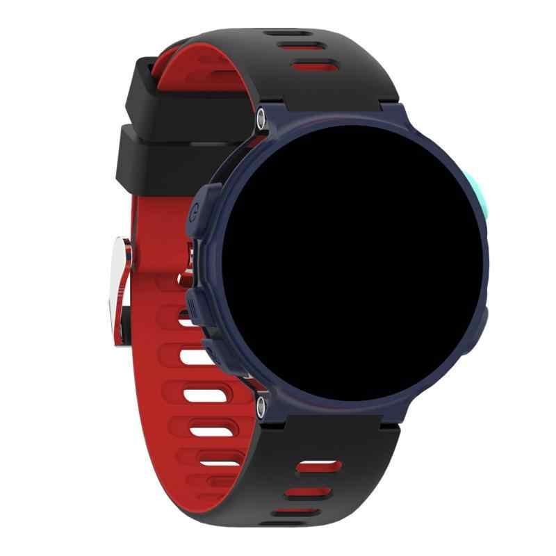 6 צבעים רצועת עבור Garmin Forerunner 235 לייט 220 735XT חכם שעון סיליקון 22MM החלפת להקת ספורט רצועת צמיד TXTB1
