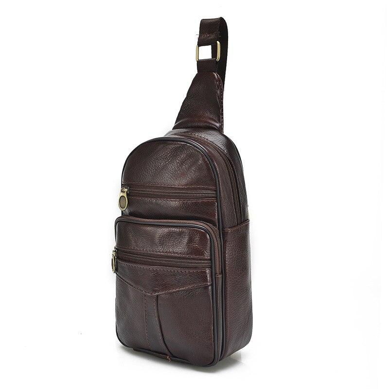 MEN'S Leather Bag Full-grain Leather Handmade Leather Bag Men's Bag Oblique Bag Shoulder Vintage Men's Genuine Leather Soft Leat