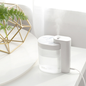 Image 3 - Xiaomi Mijia Tabletop Humidifier Ultrasound Mute USB Charge 260ML Transparent Tank Air Purifier Water Nebulizer For Home Office