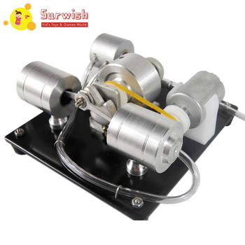 DIY Assembly Steam Engine Model Science Experiment Kit With Electric Generator недорого