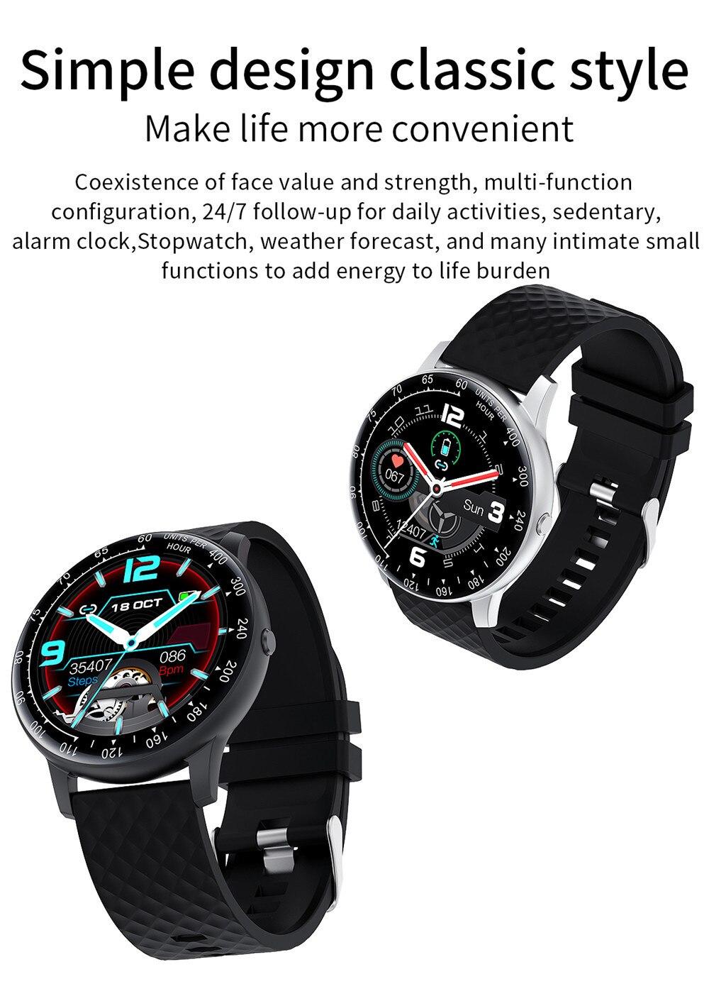 relógios eletrônica inteligente relógio de fitness rastreador