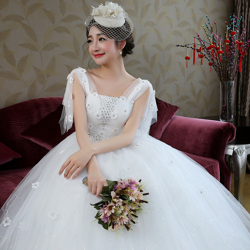 Wedding Party Dress Bridesmaid Dresses Sleeveless Appliques Ruched Ball Gown Junior Bridesmaid Dresses Vestido De Festa Longo
