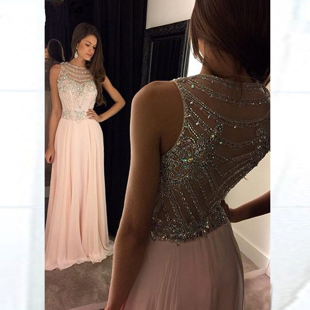ANGELSBRIDEP-High-Neck-Long-Evening-Party-Dresses-Soiree-Robe-Sexy-See-Thourgh-Back-Floor-Length-Formal