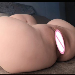 Image 4 - Top Quality 3D Realistic Silicone Big Ass 3D sex doll realistic vagina vagina real pussy Male masturbator cup Masturbate for men