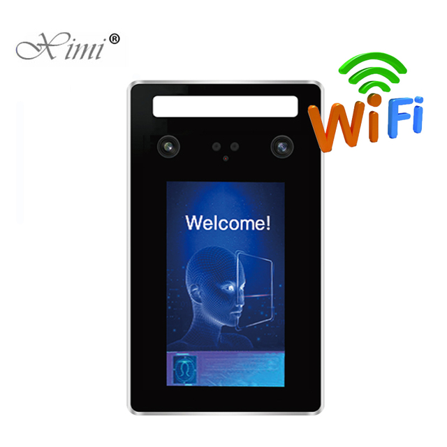Waterproof TCP/IP USB Face And RFID Card Access Control System Facial Door Access Control And Time Attendance With Software