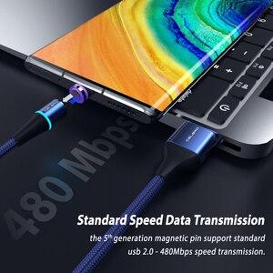 Micro Usb Type C Магнитный зарядный кабель для быстрой зарядки для Redmi 8 Huawei P40 5G MatePad Pro Realme 5 X2 Pro XT VOOC Flash Charge