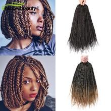 Косички для наращивания волос, 80 г, 12 нитей в упаковке, 14 дюймов