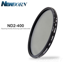 Nd Filter37/52/52/58/67/77/82/86 Mm Verstelbare ND2 Om ND400 Neutral Density Voor Camera Lens