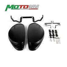 Cubierta protectora de asiento trasero, Panel lateral con pegatinas de soporte para Ducati scrambler 800, 2014, 2015, 2016, 1 par