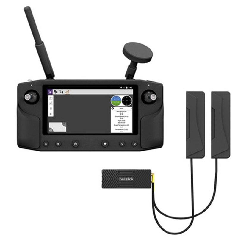 20KM longue portée Herelink 5.5in écran affiche 2.4GHz HD système de Transmission de télémétrie vidéo numérique HDMI 720P 1080P 30/60fps