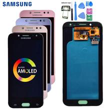 Super AMOLED LCD do Samsung Galaxy J5 2017 J530 J530F wyświetlacz LCD ekran dotykowy Digitizer zgromadzenie lcd dla J5 Pro 2017 J5 Duos tanie tanio Pojemnościowy ekran 1280x720 3 LCD i ekran dotykowy Digitizer Nowy For Samsung Galaxy j5 2017 J530 Test One By One 5 0 inch