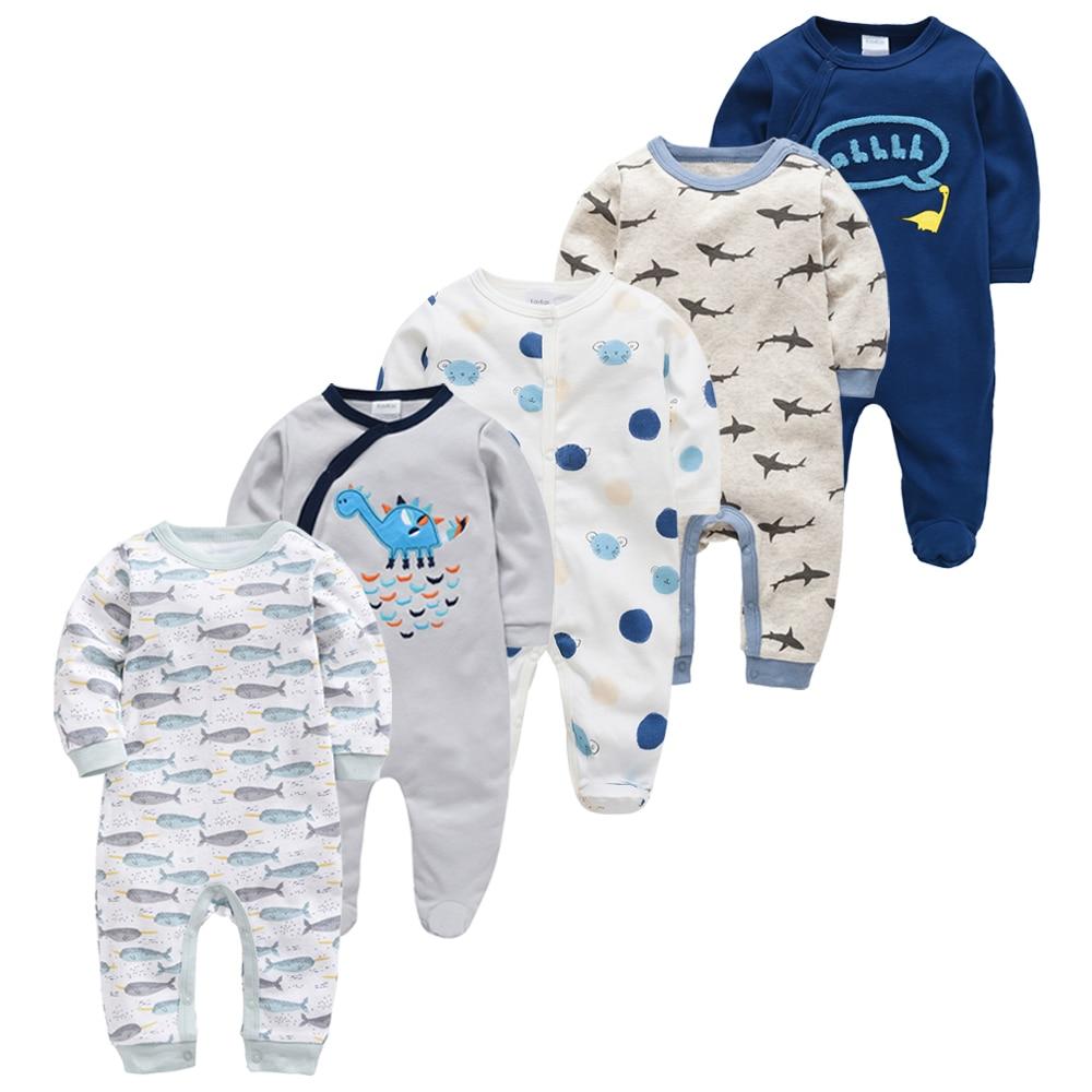 Baby Boy Pijamas bebe fille Cotton Breathable Soft ropa bebe Newborn Sleepers Baby Pjiamas