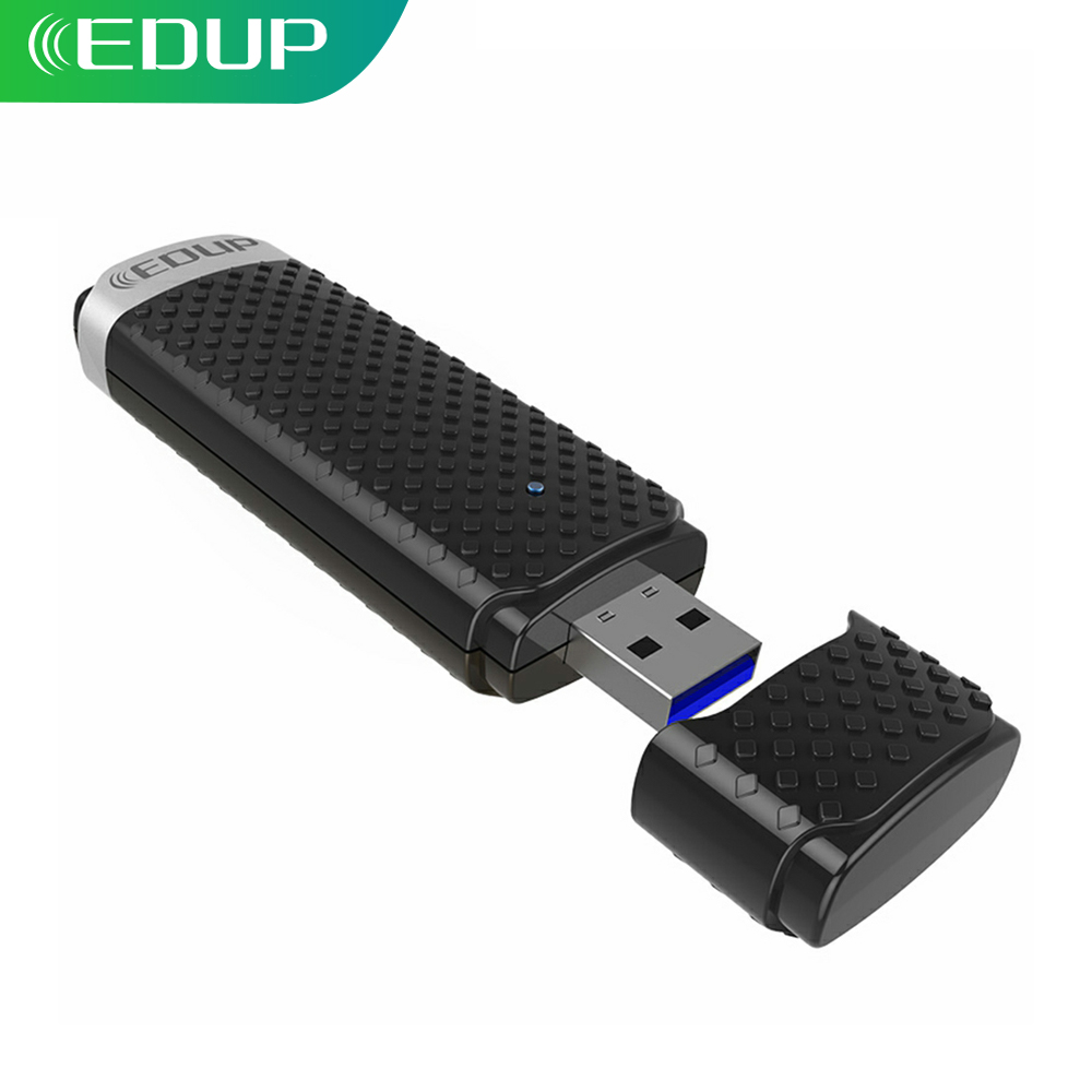 EDUP High Speed 1200Mbps 5ghz USB Wireless Wifi Adapter Wifi Receiver 802.11ac Dual Band USB 3.0 Ethernet Adapter(China)