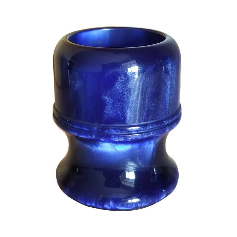 Dscosmetic 26mm Shaving Brush Handle Ocean Blue Resin Shave Brush Handle
