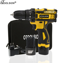 1.5Ah Small Drill Electric 12.6V Power Tools Variable Speed Lithium Cordless Screwdriver With Rechargeable Battery