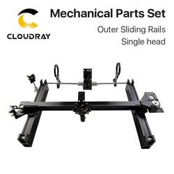 Cloudray Mechanical Parts Set 900mm*600mm Single Double Head Laser Kits External Slide DIY CO2 Laser 9060 CO2 Laser Machine