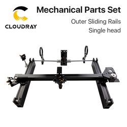 Cloudray ensemble de pièces mécaniques 900mm * 600mm simple Double tête Laser Kits glissière externe bricolage CO2 Laser 9060 CO2 Laser Machine