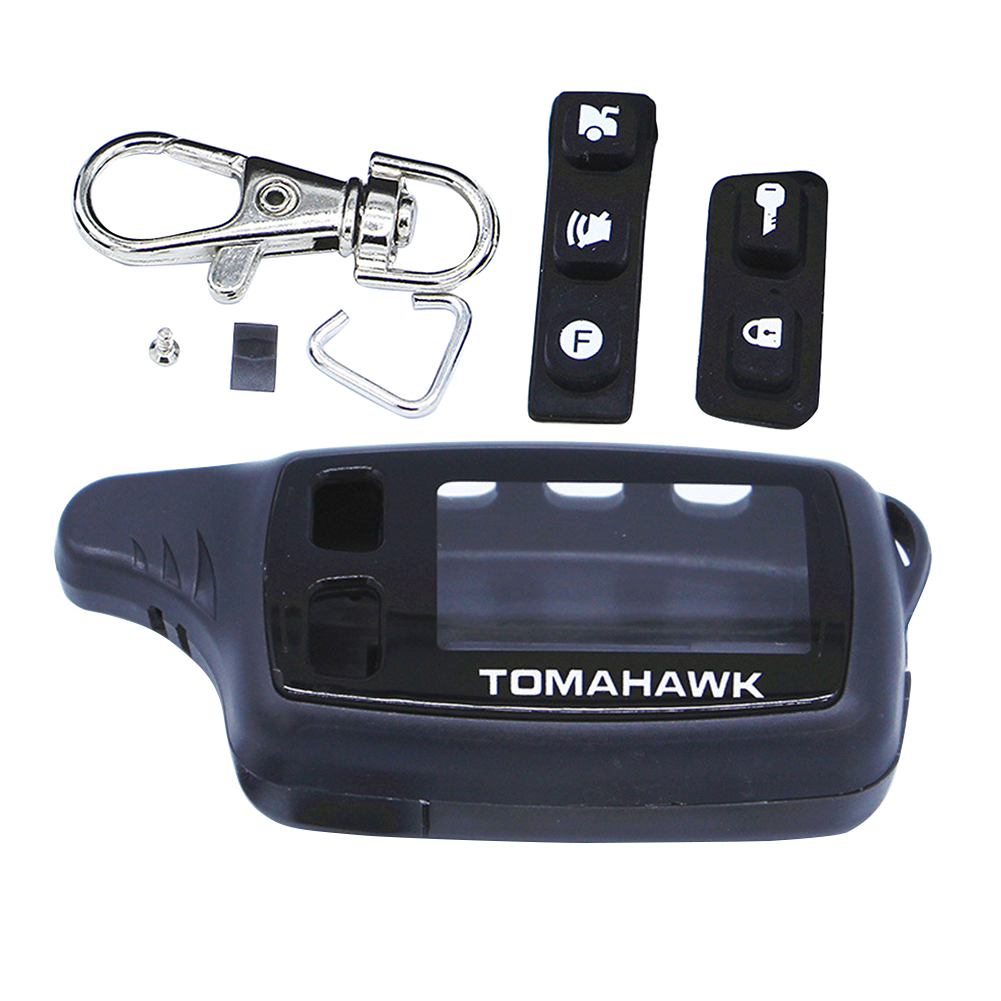 Case Keychain For Russian Two Way Car Alarm TOMAHAWK TW9010 image